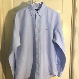 polo ralph lauren costume fit dress shirt